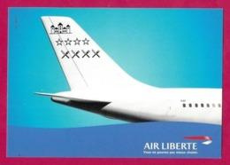CPM.   Air Liberté.   Avion.   Compagnie Aérienne.   Postcard. - 1946-....: Ere Moderne
