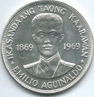 Philippines - 1969 - 1 Piso - Birth Of Emilio Aguinaldo - KM201 - Philippines