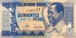 Guinea Bissau 500 Pesos, P-12 (1.3.1990) - UNC - Guinea-Bissau