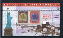 Grönland 1995 Weltkrieg Block 6 ** - Nuovi
