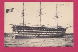 """BATEAUX -   LE """" BORDA""""   - BREST - Sailing Vessels"""