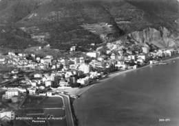 """010446 """"(SV) SPOTORNO - RIVIERA DI PONENTE - PANORAMA"""" VERA FOTOGRAFIA. CART  SPED 1960 - Savona"""