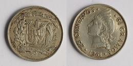 Dominican Republic 25 Centavos, 1961 KM 20 - Dominicaine