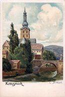 Cpa Précurseur KREUZNACH Par C. BIESE - Bad Kreuznach