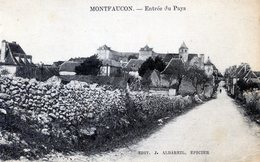 46  MONTFAUCON   ENTREE DU PAYS  (DECHIRURE  A GAUCHE) - France