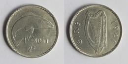 Ireland 2 Shillings (florin), 1941 KM # 15 - Irlanda