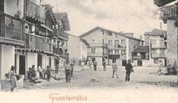►ESPAÑA◄►FUENTERRABIA►CPA◄PRÉCURSEUR►LA PLAYA►A. VILLATTE - Guipúzcoa (San Sebastián)