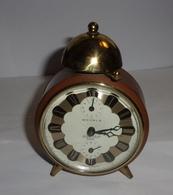 Réveil Ancien Wehrle - Lutine Bell - Durex - Alarm Clocks
