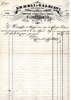CG - Ditta Ermoli E Galbiati - Varese - Pannine Telerie E Cotonerie - Fattura Del 31/8/1857 - Italië