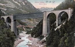 PONTEBBA (UD) - Ponte Di Muro - F/P - V: 1908 - Italie