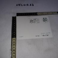 FB0491 MODENA 80'' ANNIVERSARIO DELLA FONDAZIONE MASERATI TIMBRO TARGHETTA SU CARTOLINA POSTALE - Interi Postali