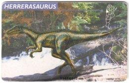 ARGENTINIA A-451 Chip Telefonica - Prehistoric Animal, Dinosaur - Used - Argentina