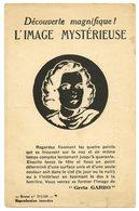Carte à Système Optique.persistance Rétinienne.illusions.actrice Hollywoodienne Greta Garbo. - A Systèmes