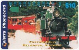 AUSTRALIA B-479 Optical Telstra - Traffic, Historic Steamlocomotive - Used - Australië
