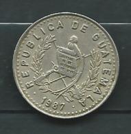 GUATEMALA 25 Centavos 1987   - Pieb 23702 - Guatemala
