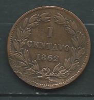 Venezuela 1 Centavo 1862  - Pieb 23706 - Venezuela