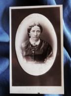 Photo CDV  Prod'Hom à Bône (Algerie)  Portrait Femme  CA 1875 - L498I - Anciennes (Av. 1900)