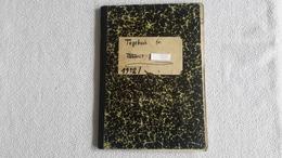 Rare Tagebuch HJ Junge Jugend 1942 Handschriftlich Schreiben Pimpf Buch Postkarten - 1939-45