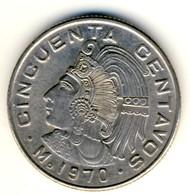 1970 Mexico 50 Centavos In AU Condition - Mexico