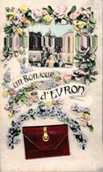 Carte 1905 UN BONJOUR D'EVRON - Evron