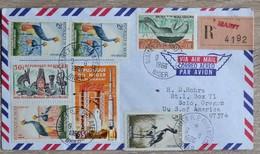 Timbres Du Niger   Sur Lettre Cover De  Niamey 1966   Tres Bon Etat   Voir Scans - Niger (1960-...)