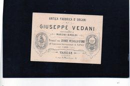 CG - Ditta Giuseppe Vedani - Antica Fabbrica Di Organi - Varese - Italie