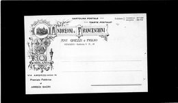 CG - Ditta Andreoni & Franceschini - Arredi Sacri - Fattura Del 27/1/1905 - Italia
