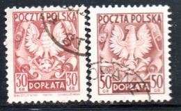 Pologne -  N° 129,9A - 1954 - Officials