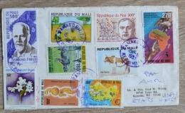 Timbres Republique Du Mali  Sur Lettre Cover De  1983  Tres Bon Etat    Voir Scans - Mali (1959-...)