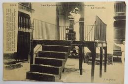 C. P. A. : CUBA : LA HABANA, LA HAVANE Les Exécutions Capitales, Ejecuciones Capitales : La Garotta, En 1910 - Cuba