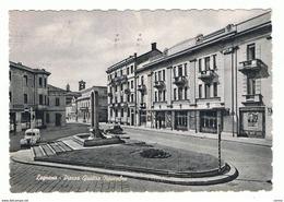 LEGNANO:  PIAZZA  QUATTRO  NOVEMBRE  -  FOTO  OPACA  -  FG - Legnano