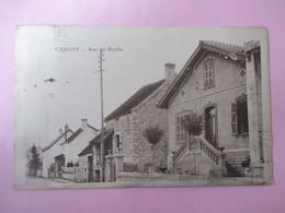 CHAGNY_Rue Du Moulin_voyagé En 1933 - France