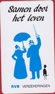 Sticker Samen Door Het Leven RVS Verzekeringen Insurance Assurance Umbrella Paraplu Dog Chien Hond Aufkleber Autocollant - Autocollants