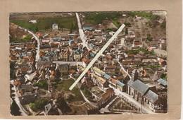 Dept 61 : ( Orne ) Le Sap, Vue Aérienne Sur La Ville, L'Eglise Et La Route De Vimoutiers. - France