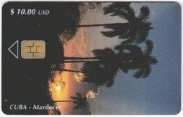 CUBA A-208 Chip Etecsa - Plant, Palmtree - Used - Cuba