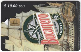 CUBA A-214 Chip Etecsa - Advertising, Drink, Beer - Used - Cuba