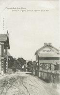 Pornichet (194), Sortie De La Gare, Prise De L'avenue De La Mer, Jolie Carte - Pornichet