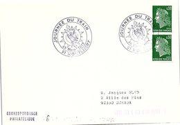 CHEMIN DE FER - JOURNEE DU TRAIN 26.3.1975 MONTLHERY 91    / 1 - Marcofilia (sobres)