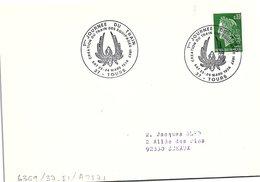 CHEMIN DE FER - 1ere JOURNEE DU TRAIN CREATION DU TRAIN DES EQUIPAGES 1807 - EAT 23-24.3.1974 TOURS 37 / 1 - Marcofilia (sobres)