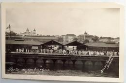 C. P. A. : BRESIL, MANAUS, MANAOS : Porto De Embarque, Bazar Sportivo Manaos - Manaus