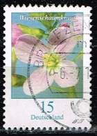 Bund 2018,Michel# 3424 O Blumen: Wiesenschaumkraut - Gebraucht