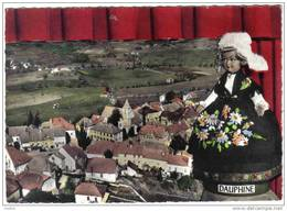 Carte Postale 26. Lus-la-Croix-Haute  Vue D'avion  Poupée Trés Beau Plan - France