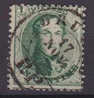 N° 13 A  BRUXELLES PP - 1863-1864 Médaillons (13/16)