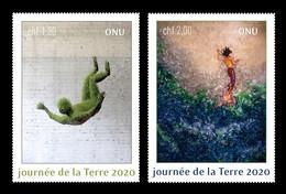 United Nations (Geneva) 2020 Mih. 1110/11 Contemporary Art. Earth Day MNH ** - Neufs