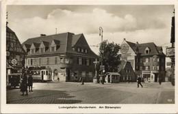 Mundenheim-Ludwigshafen Am Börsenplatz, Straßenbahn Shell 1931 - Ludwigshafen