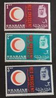 """SHARJAH MI 28/30 NEUFS**MNH """"CROIX ROUGE"""" ANNÉE 1963 - Sharjah"""
