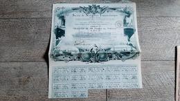 Action Obligation Ancienne Société De Navigation Transocéanique Marine 1920 Paquebot - Navigation