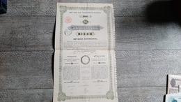 Action  Ancienne Lettre De Gage Première Union De Caisse D'épargne De Pest Zaloglevel Hongrie 1896 - Navigation