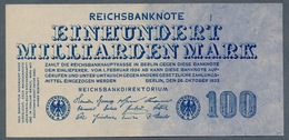 Pick126  Ro123  DEU-150 - 100 Milliard Mark 1923 ** UNC- ** - 100 Miljard Mark