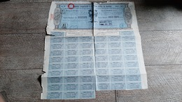 Action Ancienne Debito Unificato Della Citta Di Napoli 1979 Azione Italie - Navigation